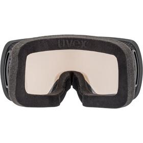 UVEX Compact V Gafas, black mat/variomatic silver